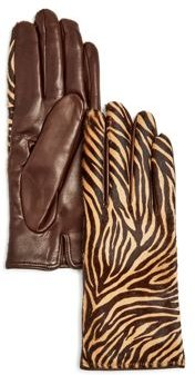 Cashmere-Lined Calf Hair Gloves - 100% Exclusive