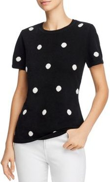Cashmere Polka-Dot Sweater - 100% Exclusive