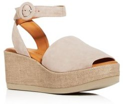 Klarita Wedge Platform Sandals