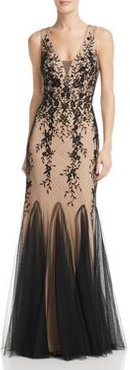 Embroidered Lace Gown - 100% Exclusive