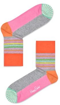Colorblocked Crew Socks