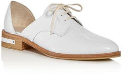 Croc-Embossed d'Orsay Oxfords - 100% Exclusive