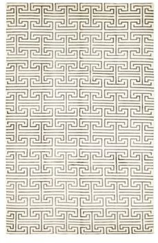 Solo Rugs Modern Elliot Hand-Knotted Area Rug, 6' x 9' 4
