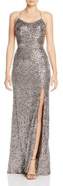 Sequin Embellished Gown - 100% Exclusive