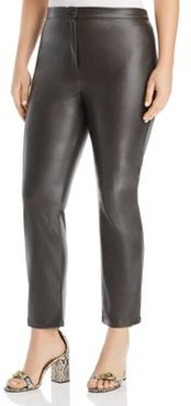 Radiale Faux-Leather Pants