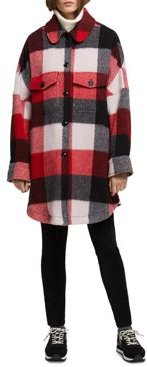 John Rich & Bros Buffalo Wool-Blend Coat