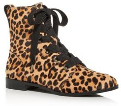 Romia Leopard-Print Calf Hair Booties - 100% Exclusive
