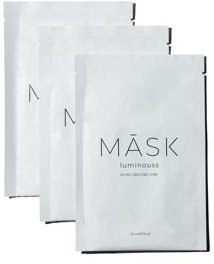 Luminouss Hydrating & Brightening Sheet Masks, Set of 3