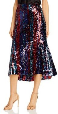 Venice Sequined Midi Skirt