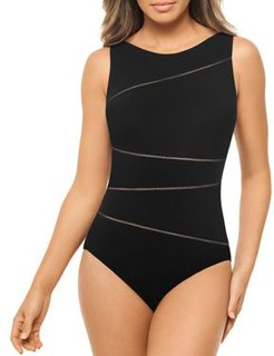 Bamboo Skyline One Piece Swimsuit
