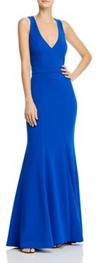 Crepe Bow-Back Gown - 100% Exclusive