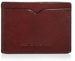 Scored Leather Card Case