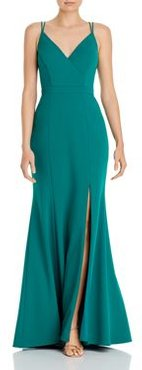 A-Line Evening Gown - 100% Exclusive