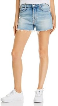 The Tomcat Frayed Denim Shorts in I Confess