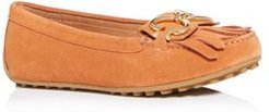 Deck Fringe Loafer Flats