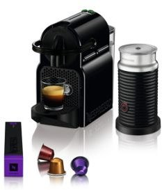Inissia Espresso Machine by De'Longhi with Aeroccino Milk Frother