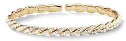 Paveflex Bracelet in 18K Gold with Diamonds