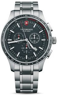 Alliance Stainless Steel Sport Chronograph, 44mm