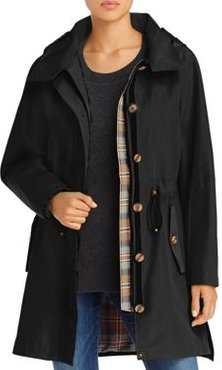 Bodega Bay Hooded Trench Coat