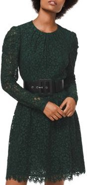 Corded Floral Lace Dress