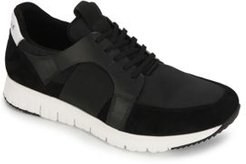 Bailey Jogger B Leather Lace-Up Sneakers