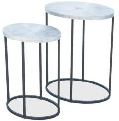 Striated Accent Table, Large