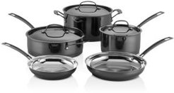 Mica Shine Stainless 8-Piece Cookware Set