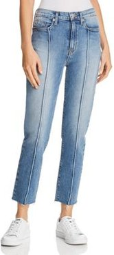 Zoeey High Rise Straight Jeans in Expression