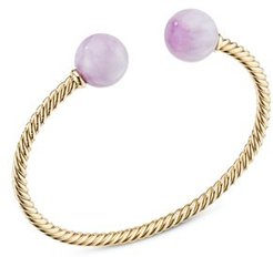 18K Yellow Gold Solari Xl Kunzite Cable Bracelet