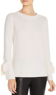 Tie-Sleeve Cashmere Sweater - 100% Exclusive