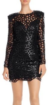 Spider Sequin Mini Dress