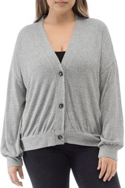 Collection by Bobeau Curvy Relaxed Cardigan