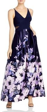 Floral Print Gown - 100% Exclusive