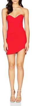Bisous Strapless Sweetheart Mini Dress