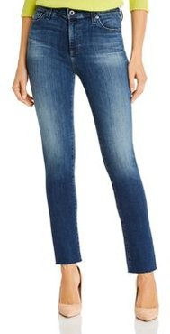 Mari High Rise Slim Straight Jeans in 12 Year Idiosyncratic