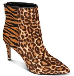 Riley Simple Mixed Animal Print Booties