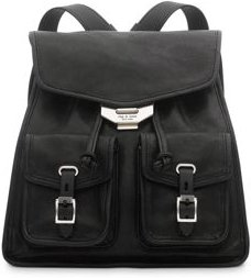 Small Field Leather Backpack