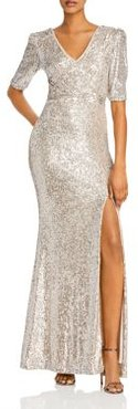 Sequined Evening Gown - 100% Exclusive