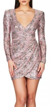 Forever Stretch Sequined Mini Dress