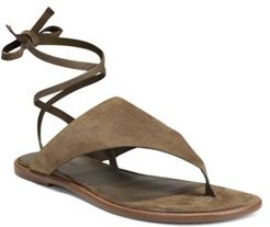 Eastwood Lace-Up Thong Sandals