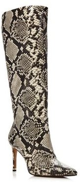 Riley Snake Print Tall Boots - 100% Exclusive