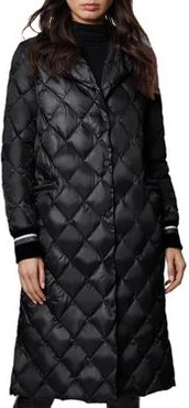 Dawn Diamond-Quilted Coat