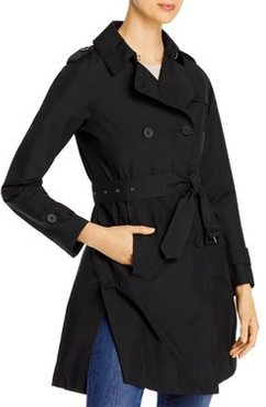 Laminar Double-Breasted Trench Coat