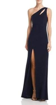 One-Shoulder Cutout Gown - 100% Exclusive