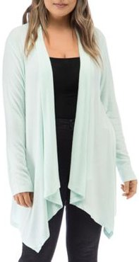 Ami Open Waterfall Cardigan
