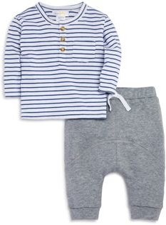 Boys' Striped Tee & Jogger Pants Set, Baby - 100% Exclusive