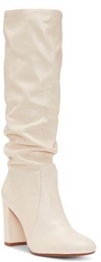 Sessily Round Toe Slouchy High-Heel Boots - 100% Exclusive