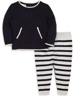 Boys' Crewneck Sweater & Striped Pants Set, Baby - 100% Exclusive