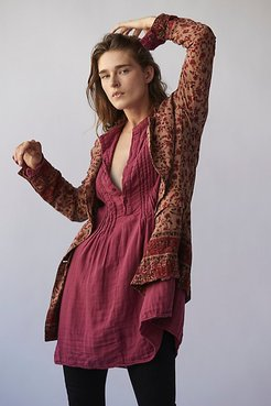 Yoko Tunic by CP Shades at Free People, Mulberry, L