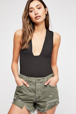 Loving Good Vibrations Cutoffs by We The Free at Free People Denim